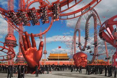 China Carnival 1 - Tiananmen; 2008.041