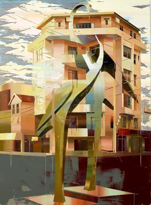 Crane's House 3; 2015.556
