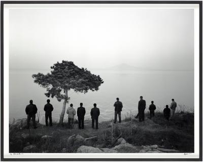 Men Waiting For the Wind