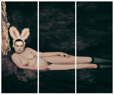 Pan Jinlian Who Performs as a Rabbit Girl; 2015.185