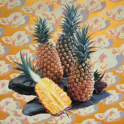 Dogs, Pineapple; 2015.488