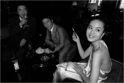 Ms Huang at M Last Night 2; 2010.061