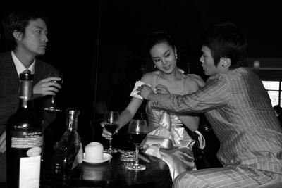 Ms Huang at M Last Night 3; 2010.065