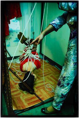 Zhuo Jie Bound by Qiao Mei, Guangzhou, 2005; 2014.114