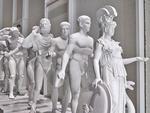 European Thousand-Armed Classical Sculpture